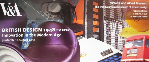 Exhibit: British Design Innovation in the Modern Age from 1948 to 2012