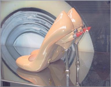 Shoes Prada fashion Cadillac style.