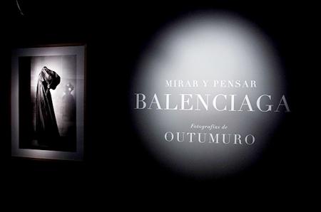 Mirar y Pensar Balenchiaga a Madrid, a retrospective.