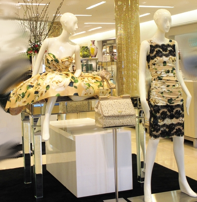 Spring is here! D&C Spring 2013, at Saks 5th Avenue El Paseo.
