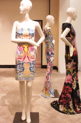 Summer Looks from Roberto Cavalli at Saks 5th Avenue El Paseo.