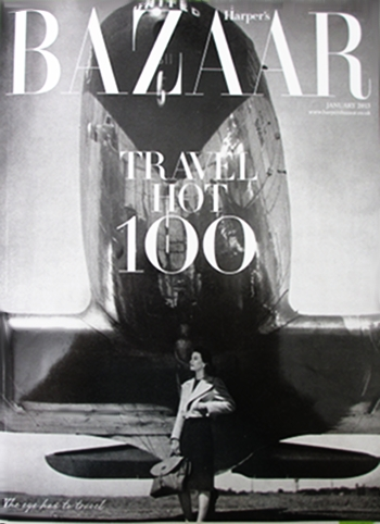 Bazaar Travel Hot 100 Travel in Style The great aera of Flying.