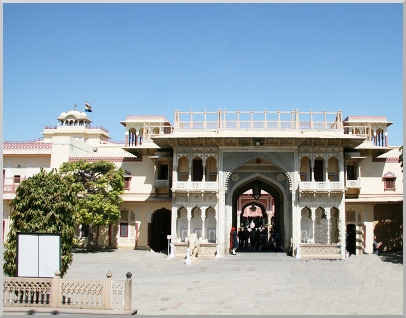 Destination: India Diary. The Prince of Wales Pavillion, Jaipur, Radjastan.