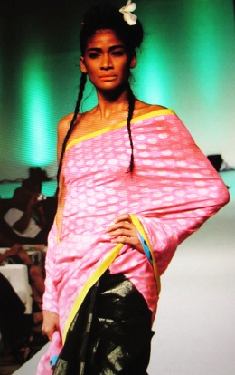 design by Anupamaa collection at IRFWK in Goa, India.