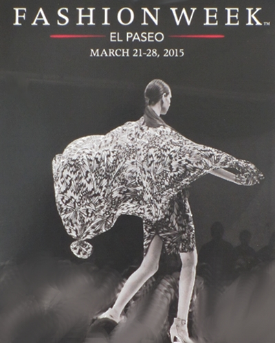Invitation to Attend Fashion Week El Paseo 2015.