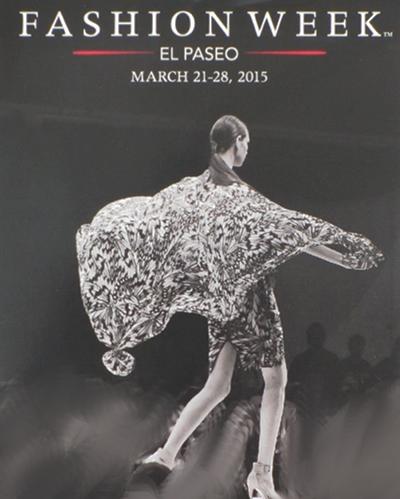 Invitation to Attend Fashion Week El Paseo 2015.