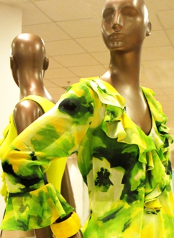 Jungle Look in bright yellow and green for the Urban Jungle.