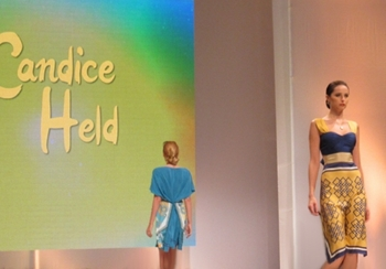 Models for Candice Held Spring 2015 collection.