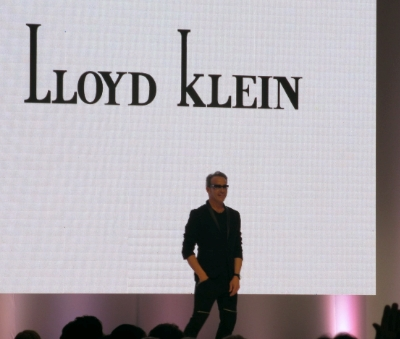 Lloyd Klein made a brief appearance on stage.