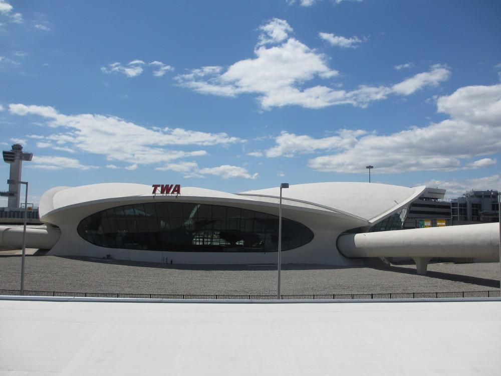 Back to the Past into the Future. TWA JFK Terminal Saarinen's futuristic vision still modern today.