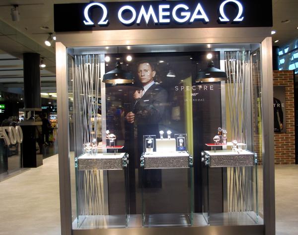 These displays have diamanté elements.