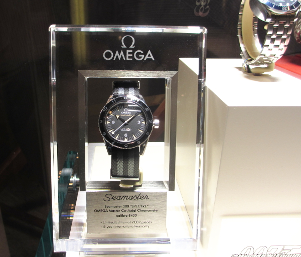 "The Omega Seamaster 300 ""Spectre"" in all black. Stunning!"