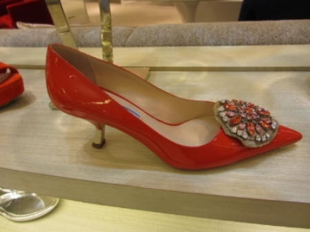 These  Prada Medallion Pumps  are my FAVS.