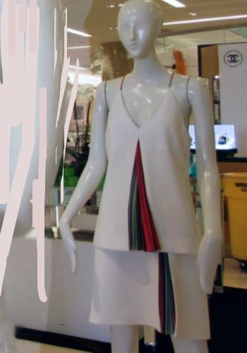 Acer Cami fan pleats frilly, flirty, Summer