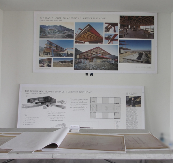 Photo boards Presentation boards and construction drawings