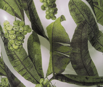 Detail of the foliage print