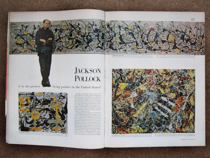 Resultado de imagen de jackson pollock 1949