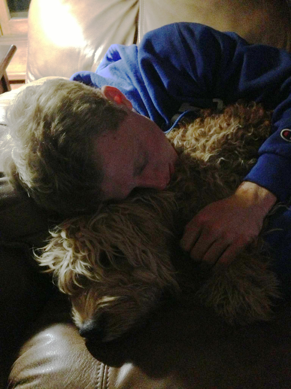 Napping with Trev