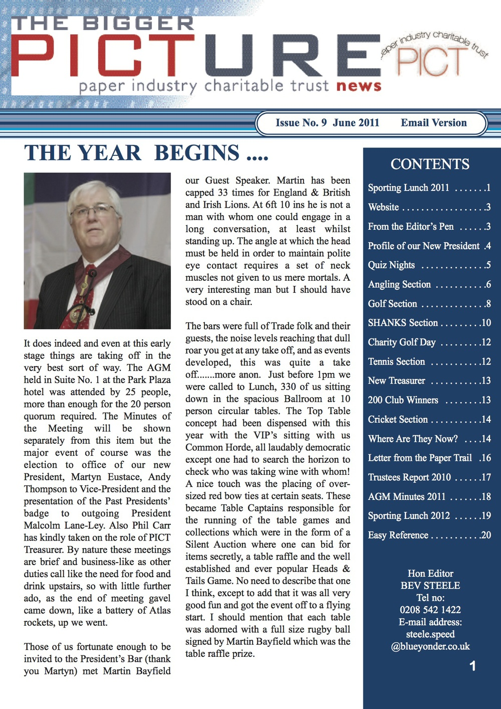 Issue 9 - June 2011