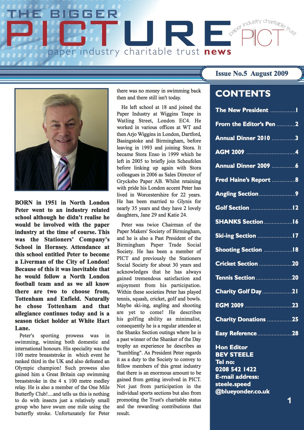 Issue 5 -        August 2009