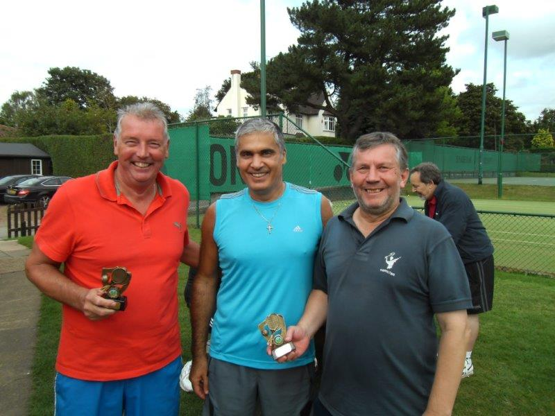 Runners Up Penman Trophy 2012 Barrie Farnsworth & Graham Hall.