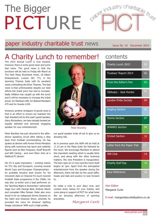 Issue 16 - December 2014