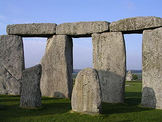 Stonehenge: an example of an early industrial dispute between management and workers.