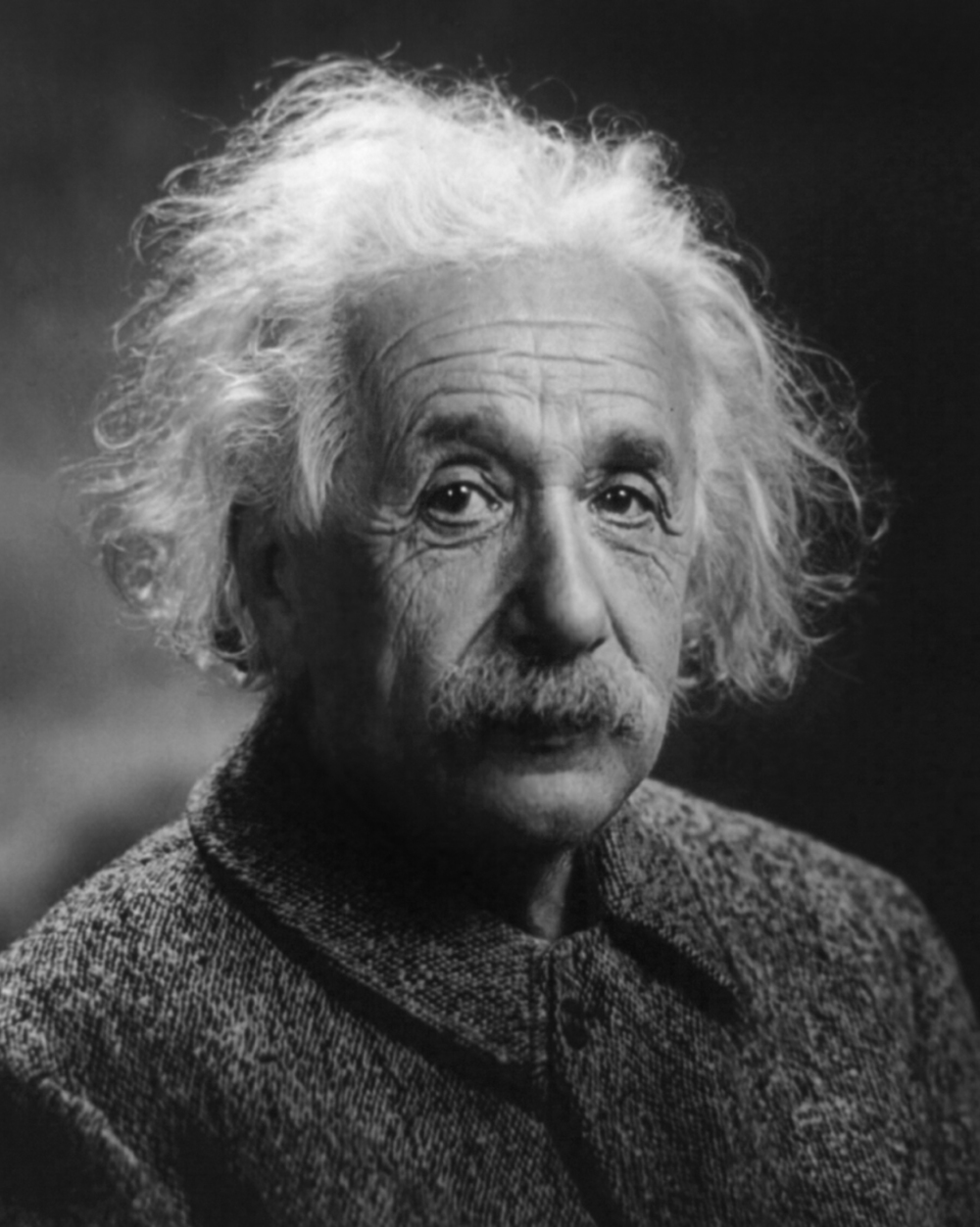 Einstein:  am I sexy or what