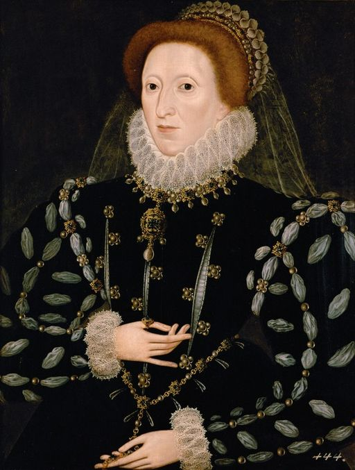 Elizabeth I:  I'll just spend the rest of my life in this chastity-inducing ruff then.
