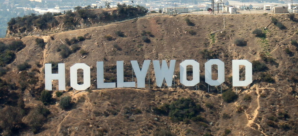 Hollywood:  if you marry, just make sure you don't live or work anywhere near this sign