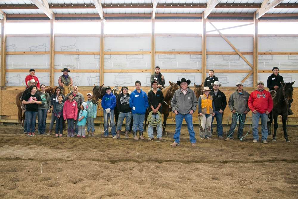 Cheyenne River Youth Horsemanship Program continues to do outstanding things! We are so proud of the success that they've made and the obstacles they each plan on overcoming in their journey to becoming a quality horsemen or horsewomen. This group of youth and their advisors are some of the most respectful and kind-hearted individuals; we are so glad to call them our friends.