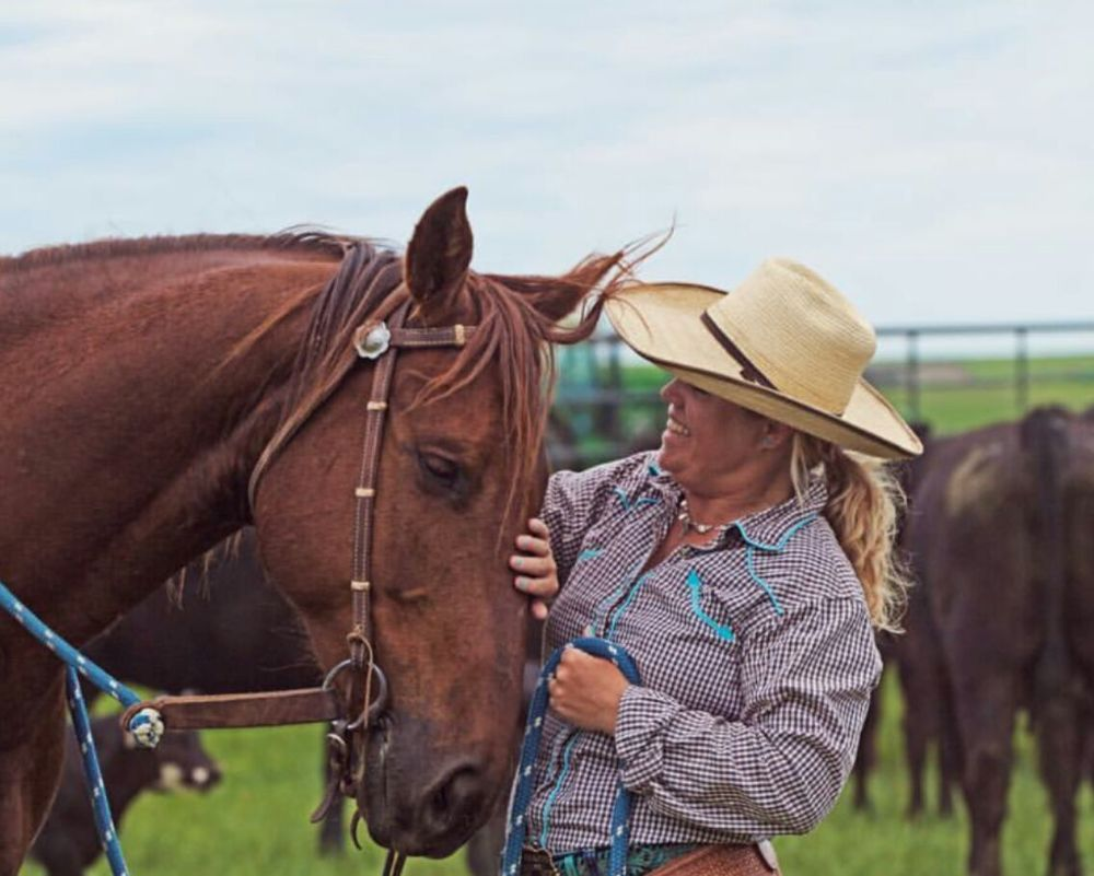 This is Project H3LP!'s Horsemanship Instructor, Jenn!