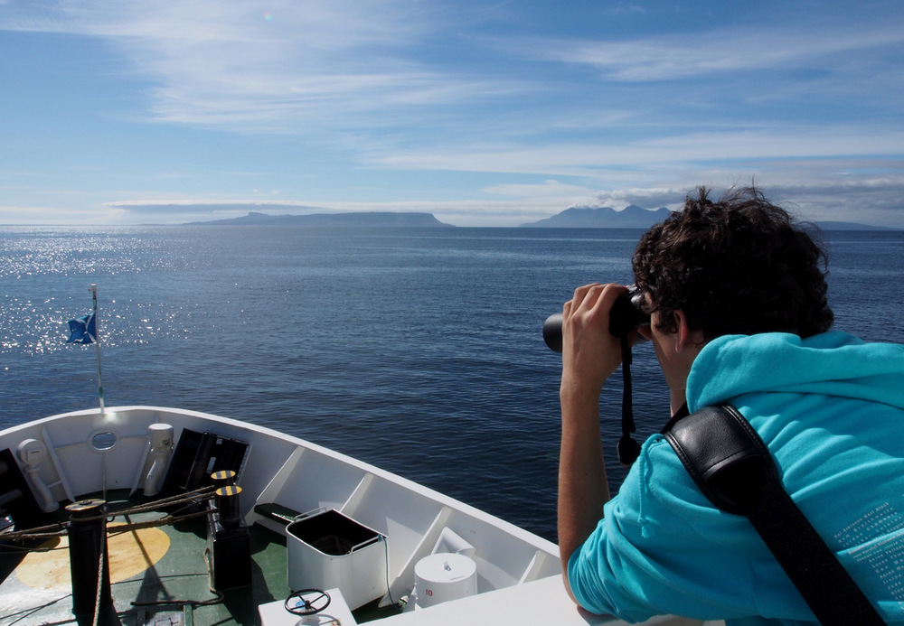 Group walking holiday - ferry to Eigg