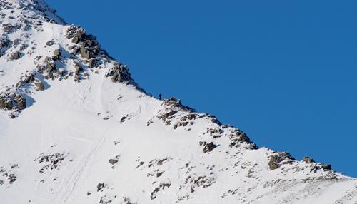 Swirral Edge in winter