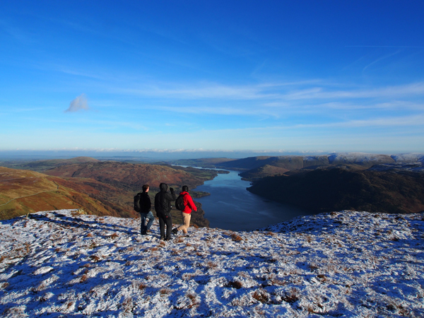 Winter hillwalking in the Lake District