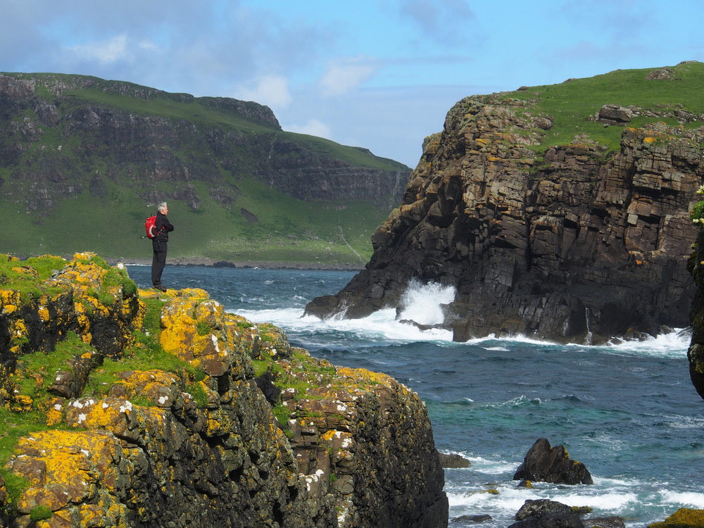 Isle of Muck - Small Isles walking holidays for groups in Scotland