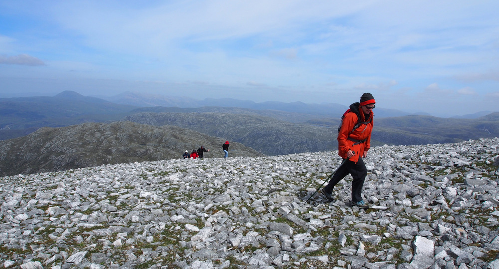Walking holiday on Glas Bheinn