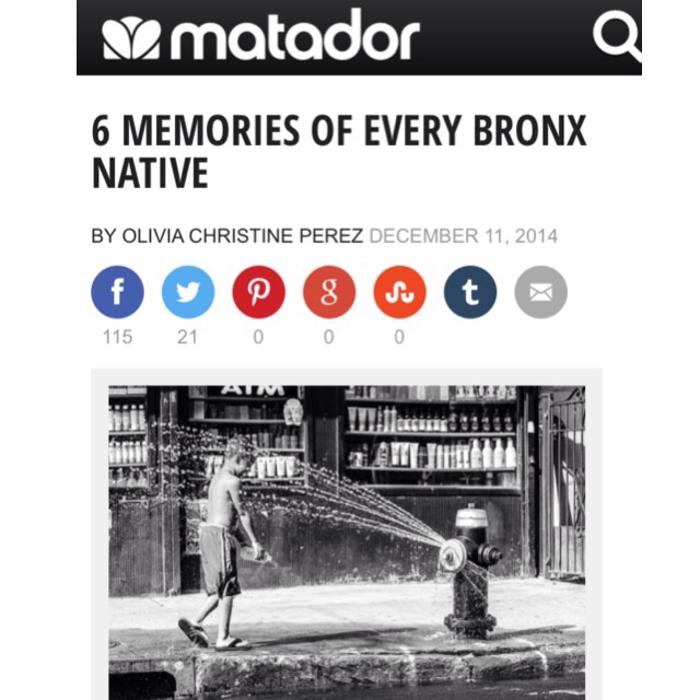 """6 Memories of Every (South) Bronx Native""    Read the article >>"
