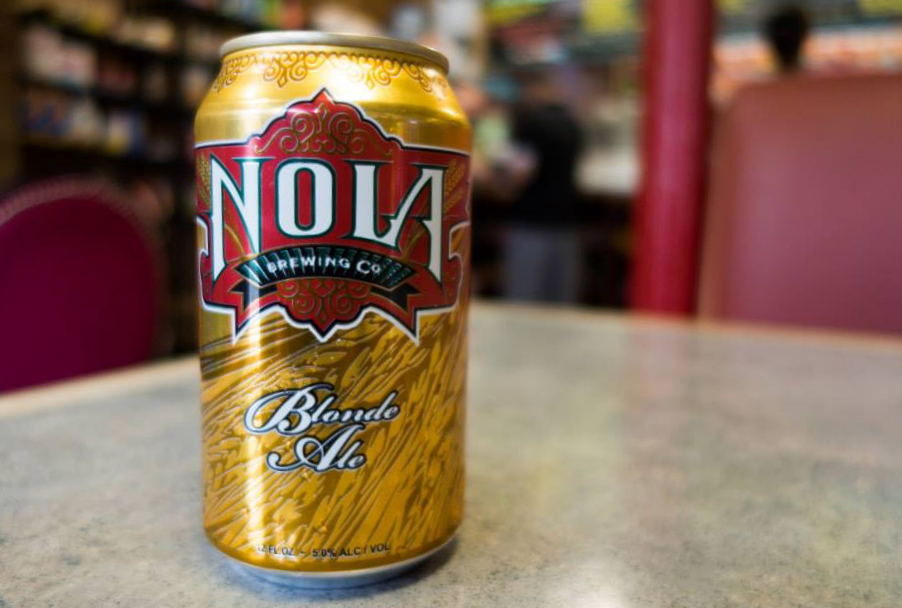 You can't start the trip without a NOLA beer.