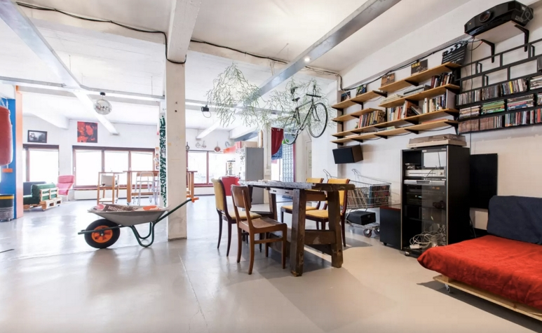 Vacation loft in brussels belgium airbnb review o for W furniture rental brussels