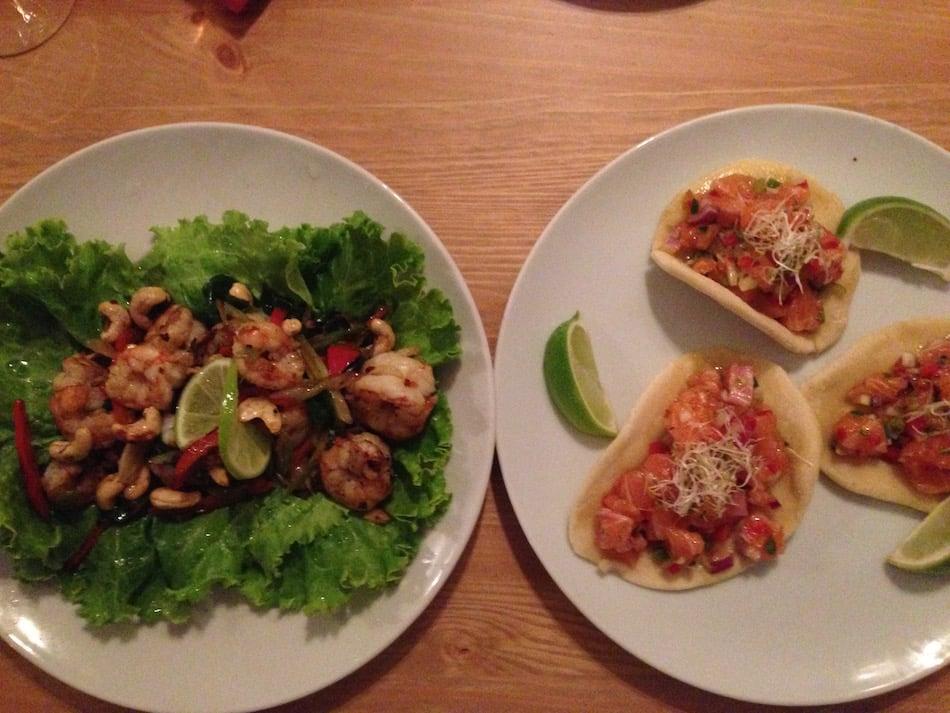 tuna-tacos-shrimp-salad