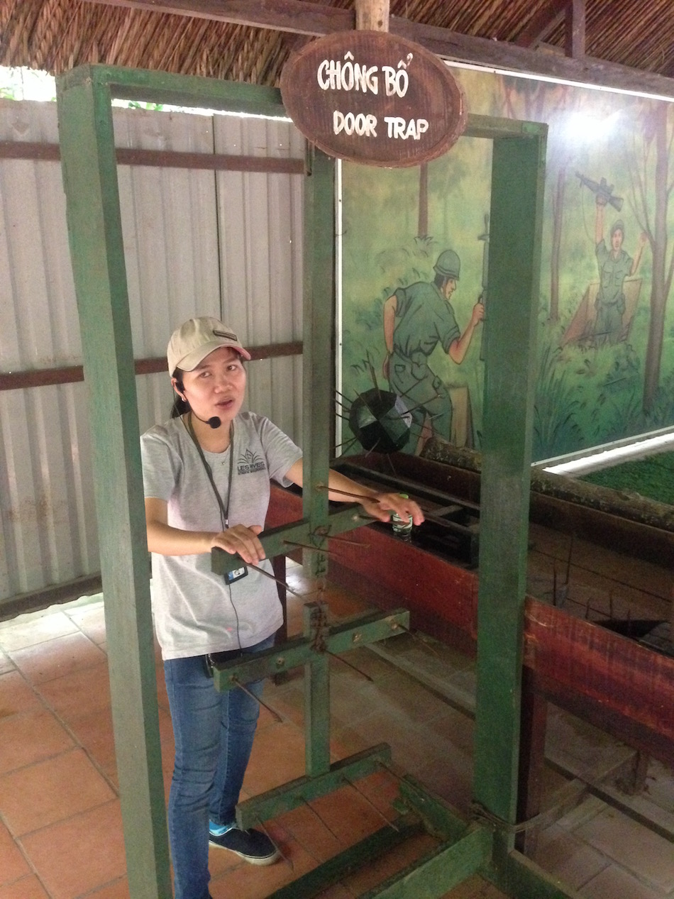 Visiting The Cu Chi Tunnels Provides A Chilling Peek Into