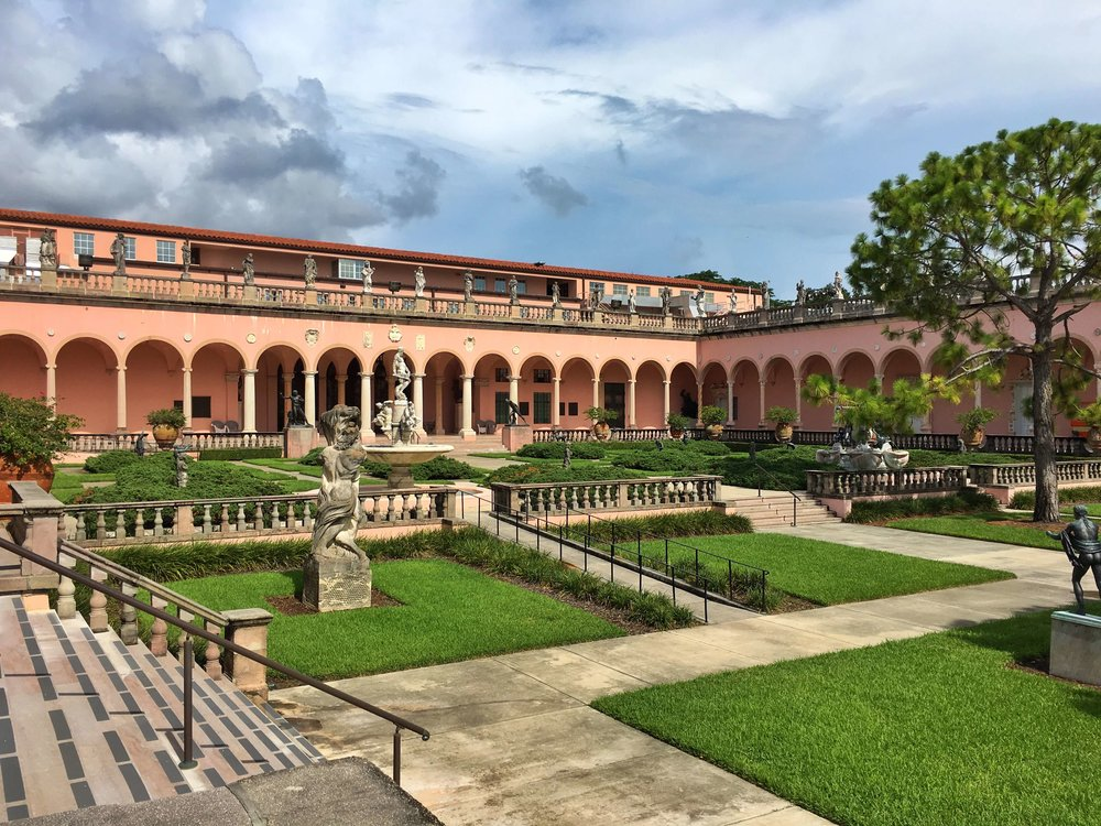 The John & Mable Ringling Museum of Art: Courtyard