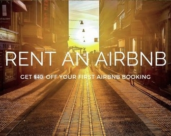 $40 OFF AIRBNB  -
