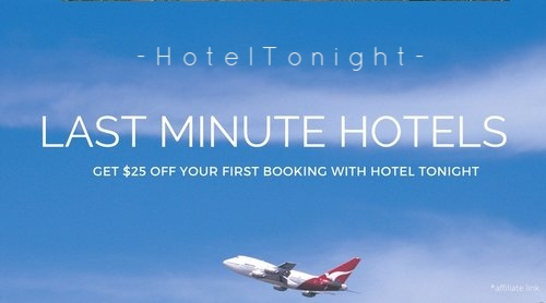 $25 off your first HotelTonight Booking -