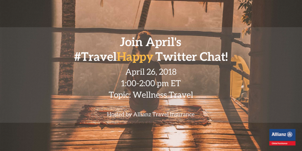 Twitter chat: 1-2pm ET, Thursday April 26th