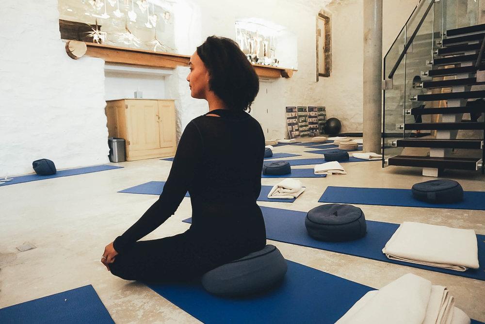 Yoga Class at Le Monastère des Augustines PHOTO: O. CHRISTINE