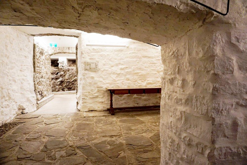Cellar | Le Monastère des Augustines PHOTO: O. CHRISTINE