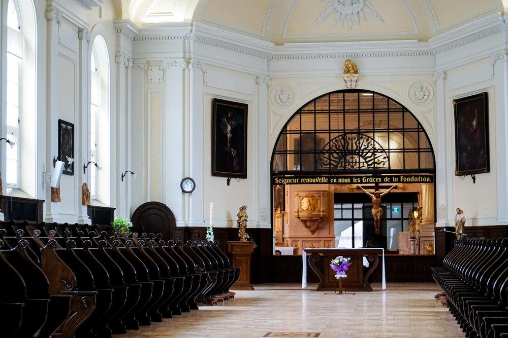 Church and choir PHOTO: O. CHRISTINE