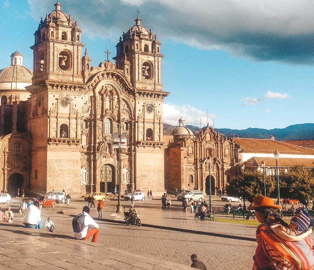 south america cusco ochristine